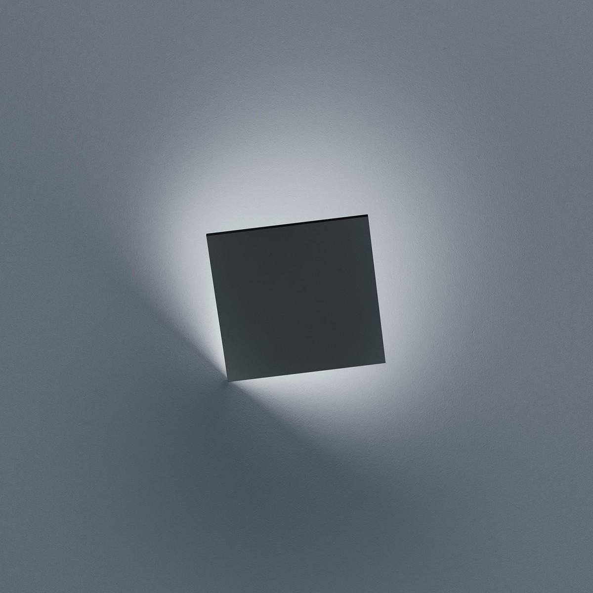 Helestra Meta LED Außenwandleuchte, graphit
