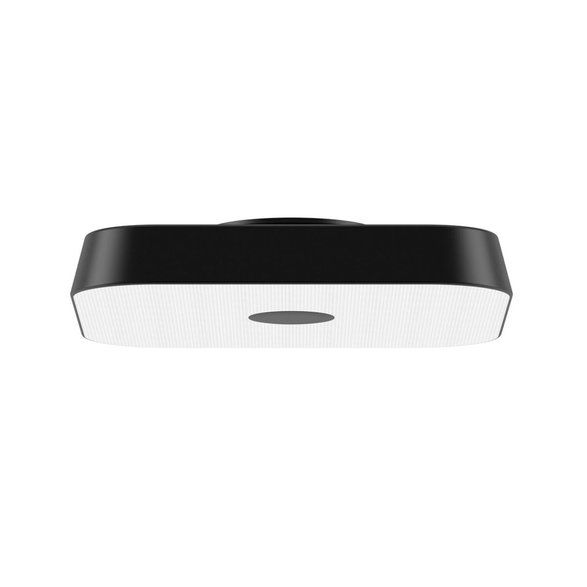 Belux Koi-Q LED Deckenleuchte, dimmbar DALI, 3000K, schwarz