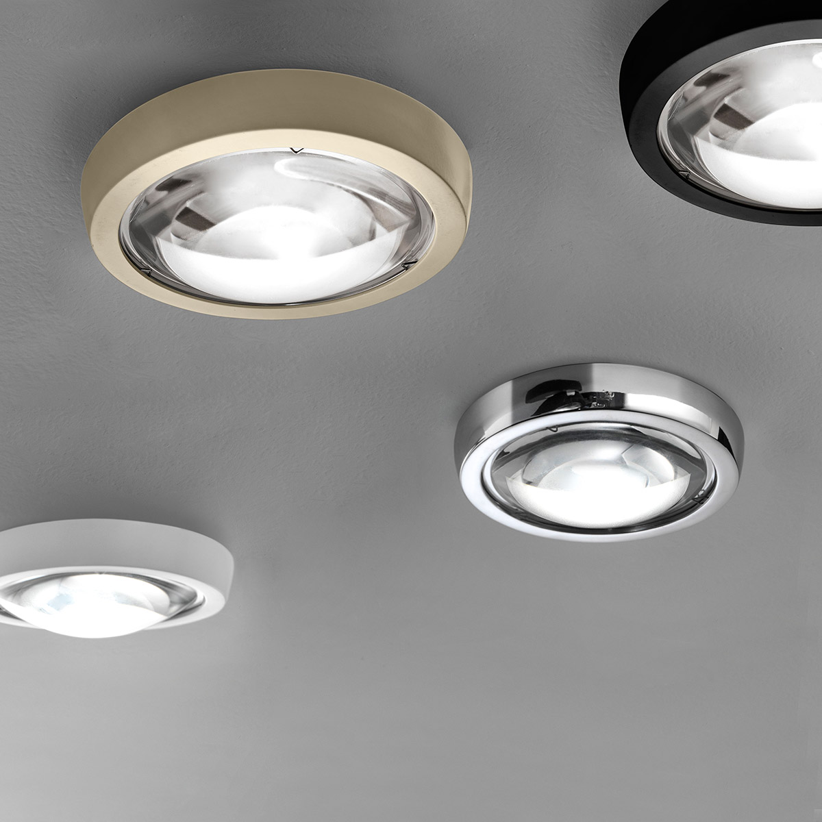 Studio Italia Design Nautilus Spot 3000 K LED Deckenaufbauleuchte