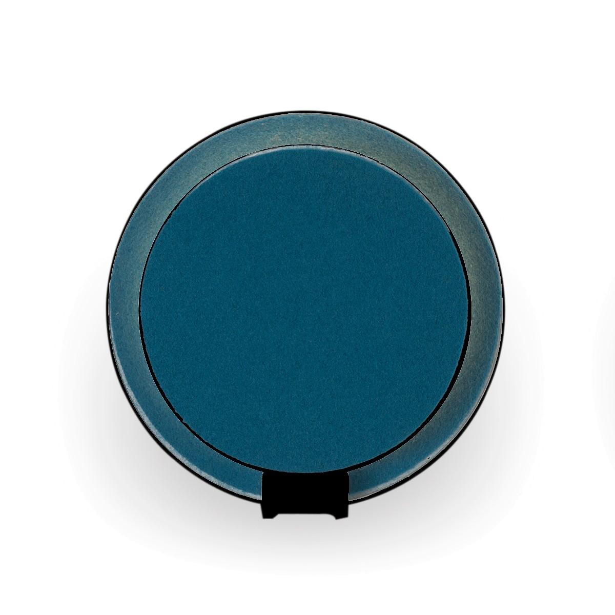 BellXpress Gravy Wandleuchte, schwarz, Front: Azure-Filz