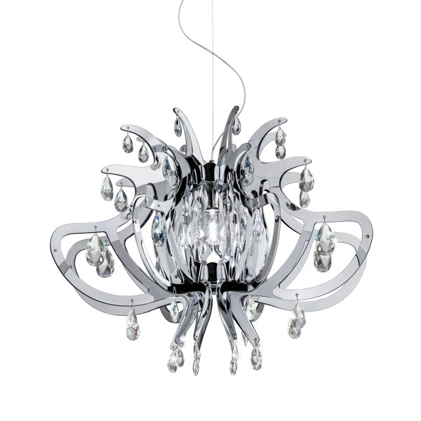 Slamp Lillibet Suspension, silver (Silber)