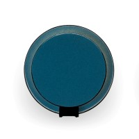 Gravy Wandleuchte, schwarz, Front: Azure-Filz