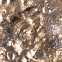 Stchu-Moon 05 Wandleuchte, Kupfer/außen weiß