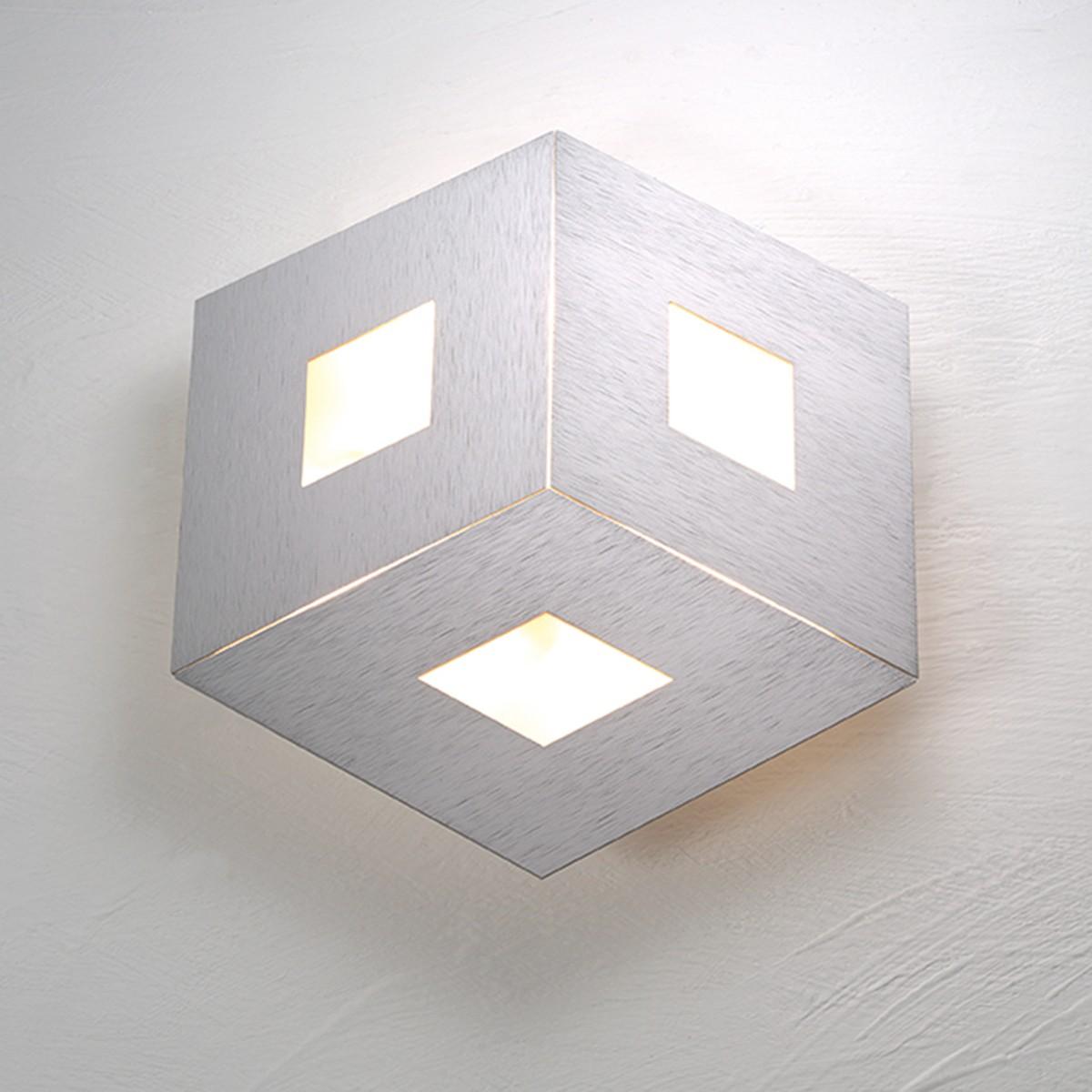 Bopp Box Comfort Deckenleuchte Ø: 35 cm, silber matt eloxiert