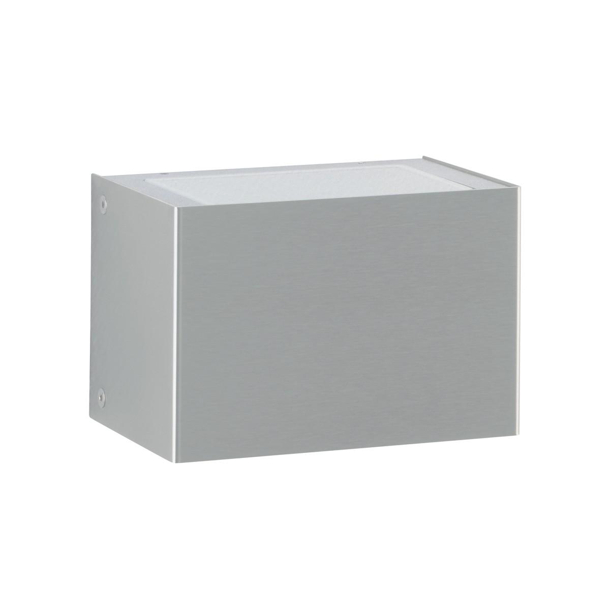 Albert 69636 Außenwandleuchte LED, Breite: 15 cm, Edelstahl