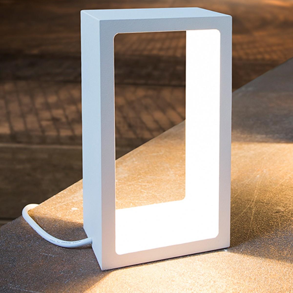 MyLight Corridor LED Tischleuchte, weiß