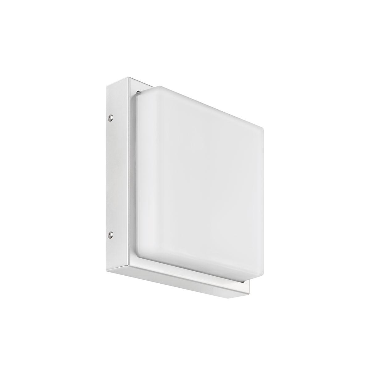 LCD Außenleuchten 046 Wandleuchte LED, Edelstahl, ohne Bewegungsmelder