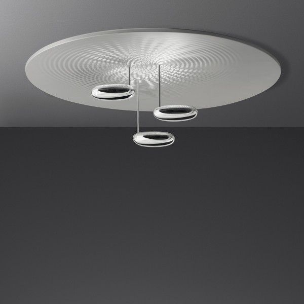 Artemide Droplet Soffitto LED, Chrom