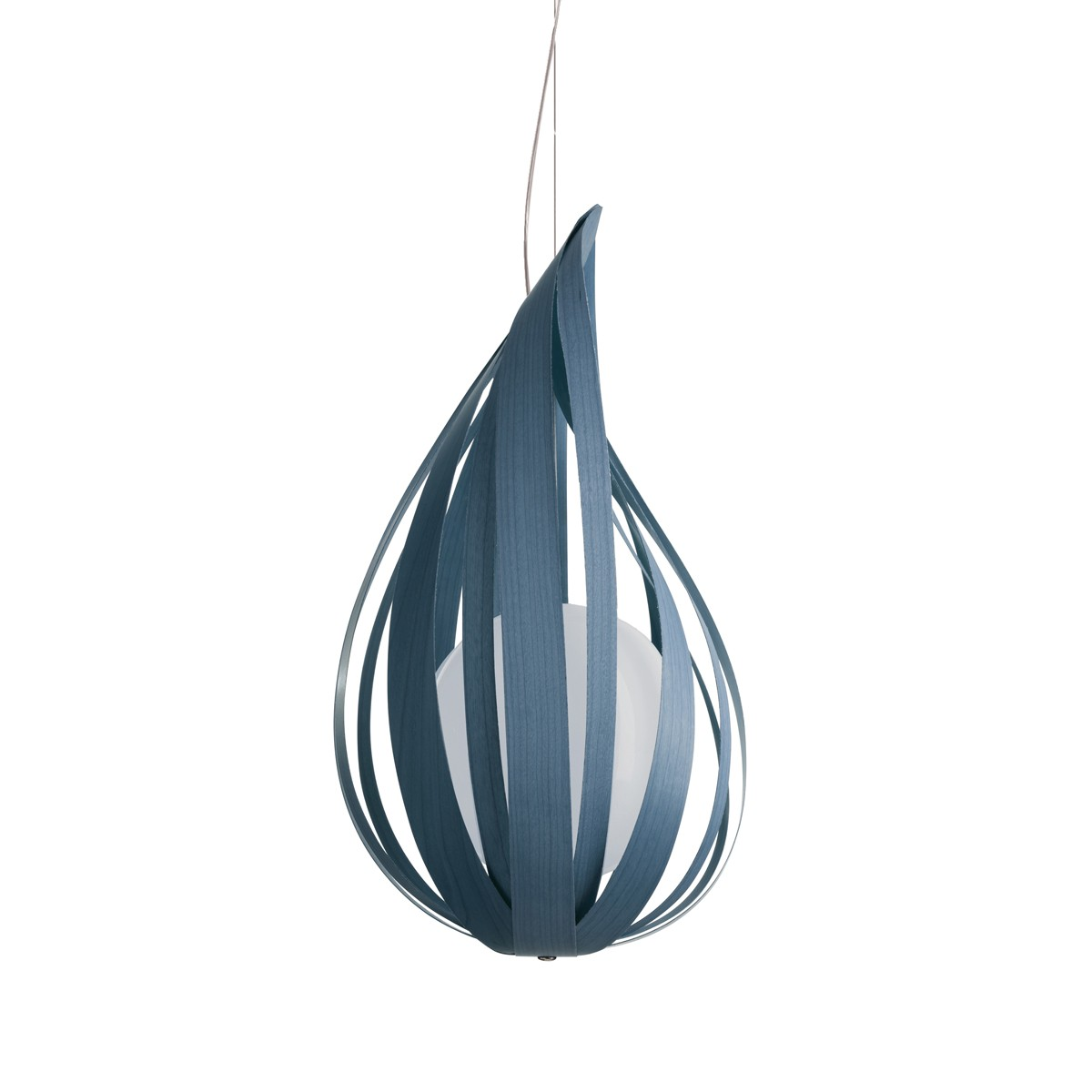 LZF Lamps Raindrop Medium Pendelleuchte, blau