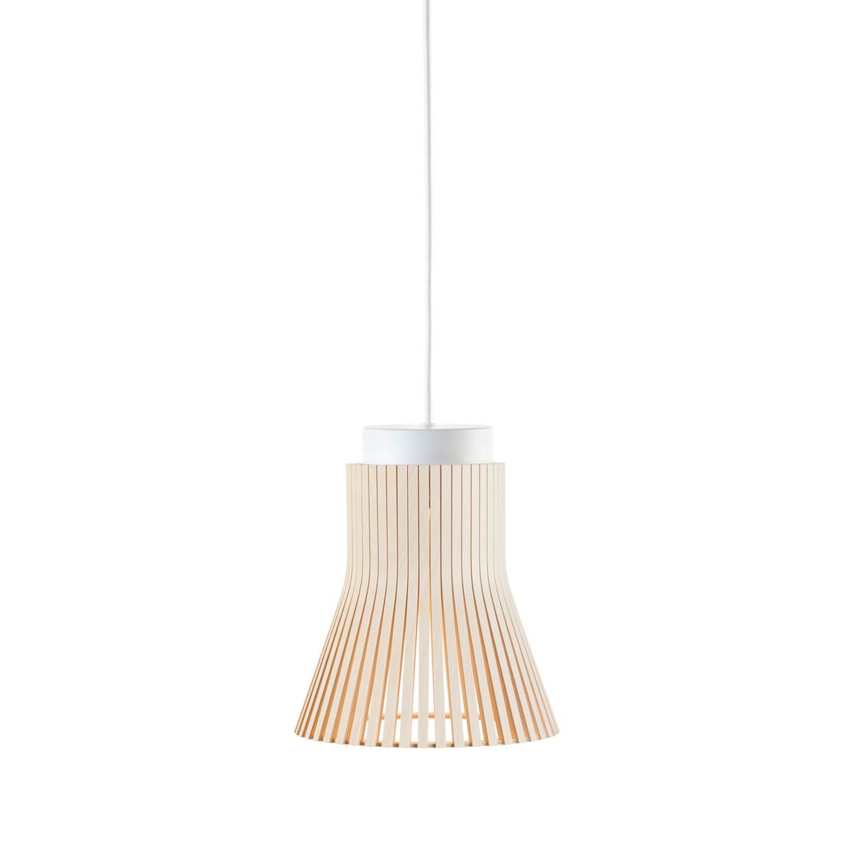 Secto Design Petite 4600 Pendelleuchte, Birke natur, Kabel: weiß