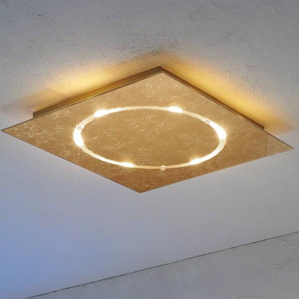 Escale LED-Deckenleuchte Skyline, Blattgold (Produktansicht)
