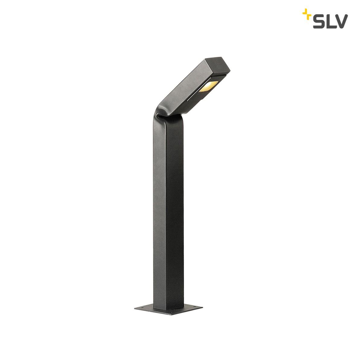 SLV Bendo LED Pollerleuchte, Höhe: 80 cm, anthrazit