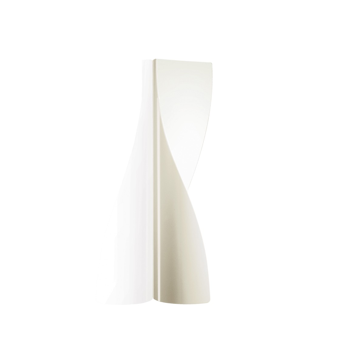Kundalini Evita LED Wandleuchte, weiß glänzend