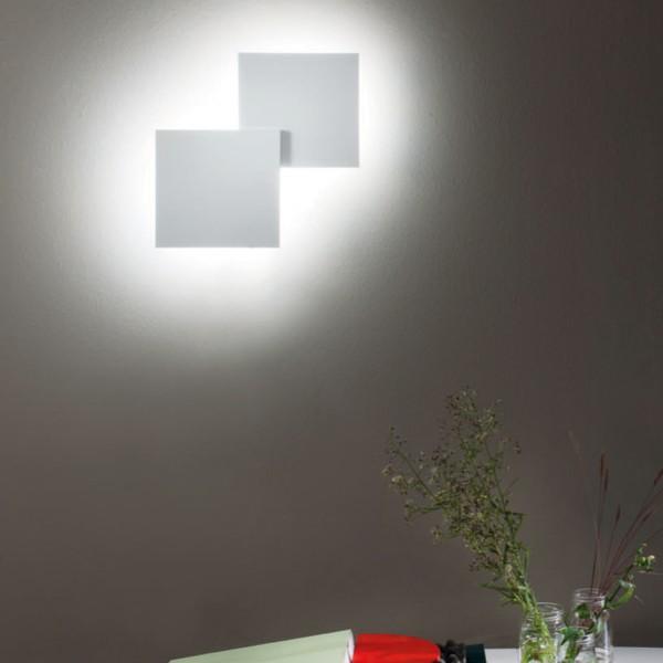 Puzzle Double Square Wand - / Deckenleuchte, Ambiente