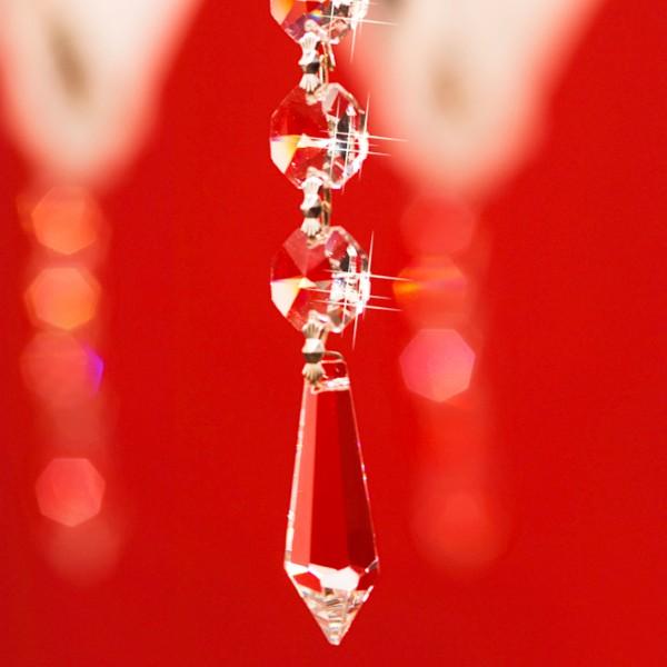 Serien Lighting Zoom Crystal Anhänger, Kristallglas (Detailbild)