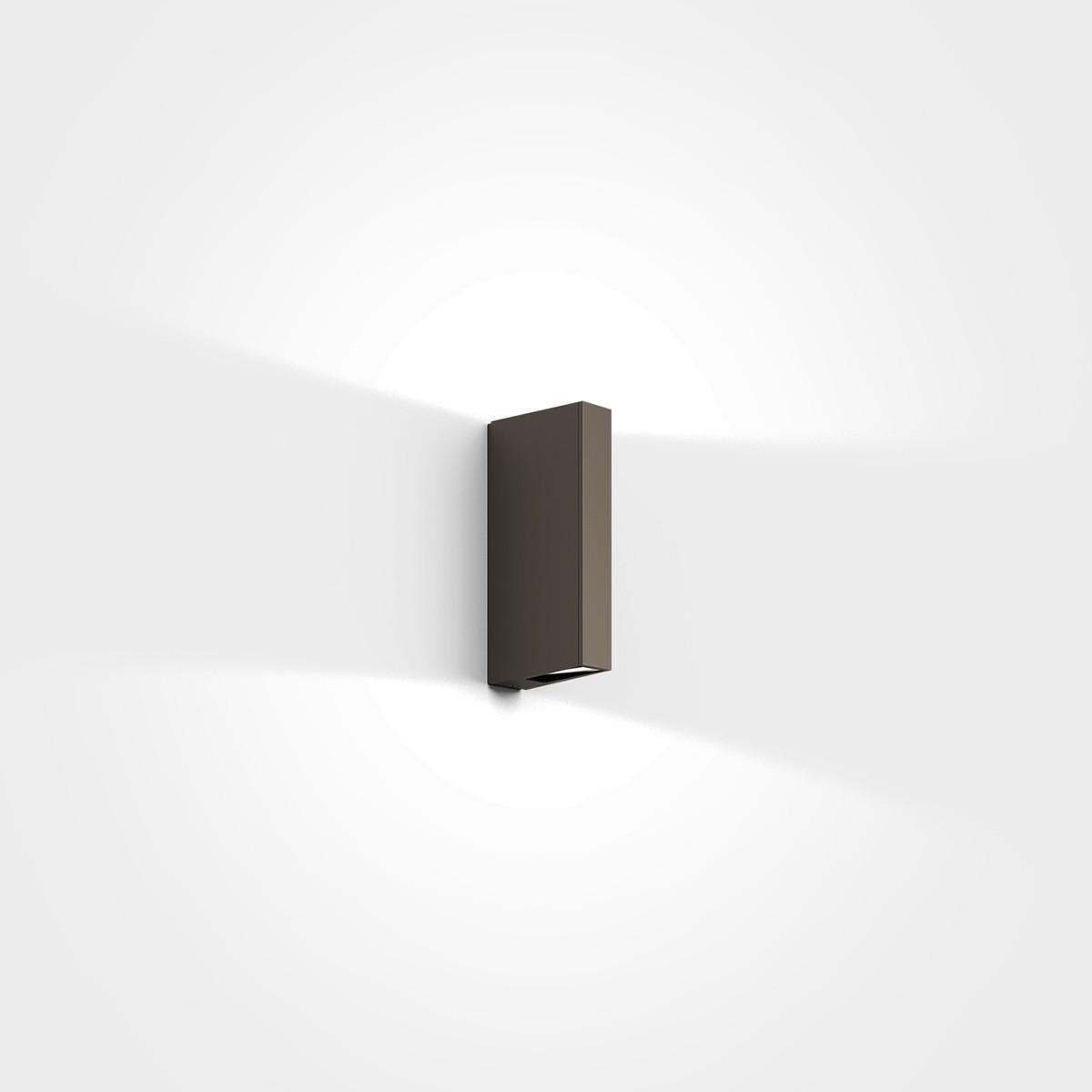 IP44.de Gap Y LED Außenwandleuchte, cool brown (braun)