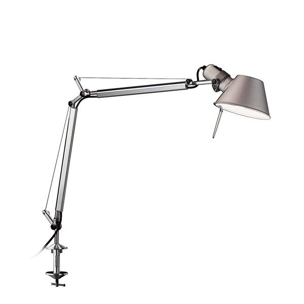 Artemide Tolomeo Mini Tavolo LED mit Tischklemme, Aluminium