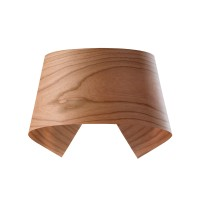 LZF Lamps Hi-Collar LED Wandleuchte, Kirsche