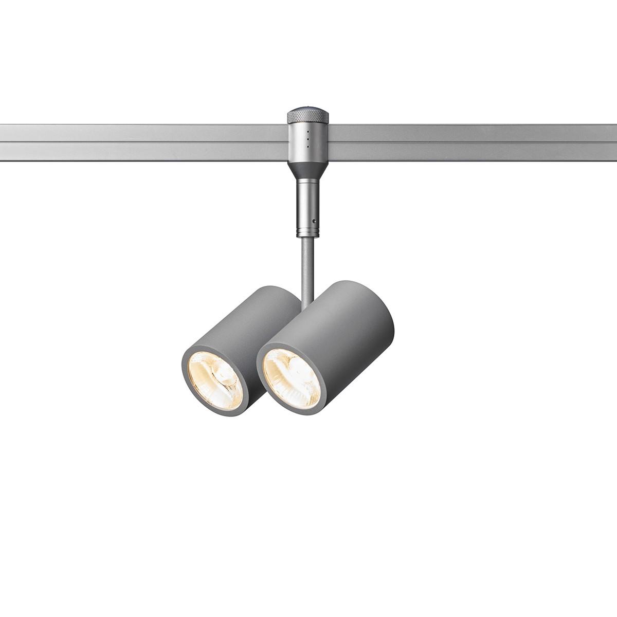 Oligo CHECK-IN Walley LED Strahler, 2-flg, Chrom matt