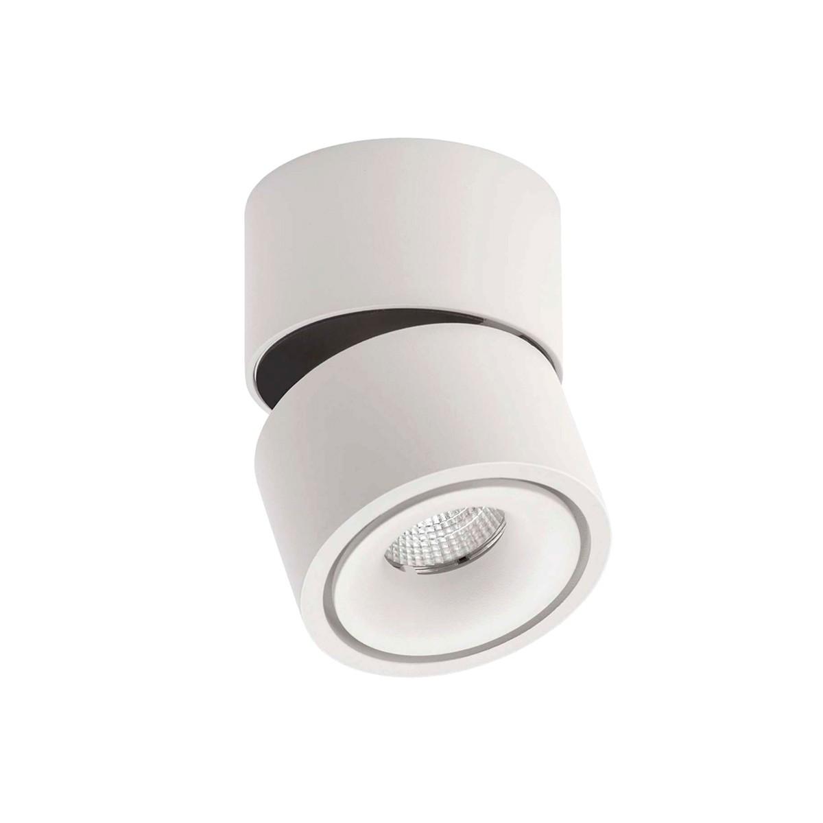 Lumexx Easy Mini LED Wand- / Deckenleuchte, weiß/schwarz