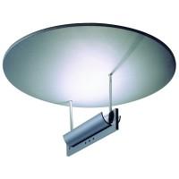 Round About Deckenleuchte, Ø: 47 cm, Reflektor: Chrom matt