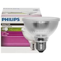 Philips Master LED Spot Reflektor E27, 9,5 W, 2700 K, dimmbar, Abstrahlwinkel: 25°