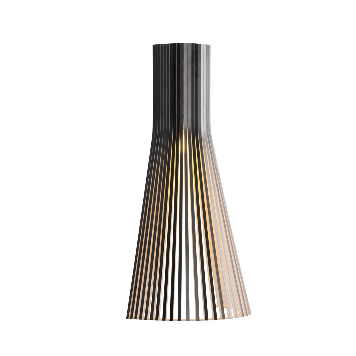Secto Design Secto 4230 Wandleuchte, schwarz laminiert
