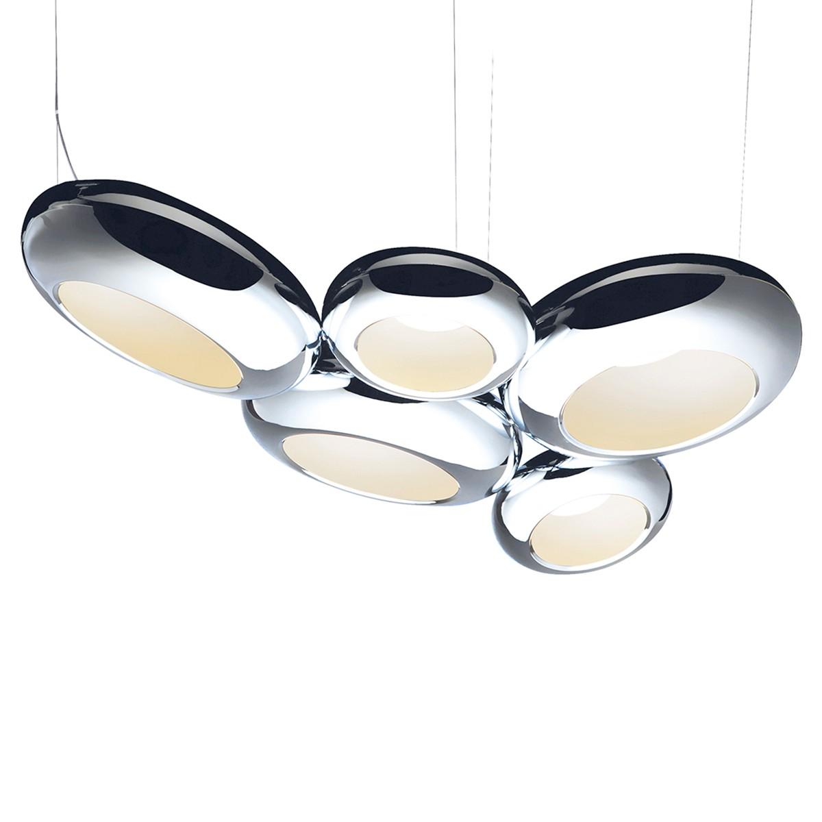 Sompex Aura 05 LED Pendelleuchte, Chrom