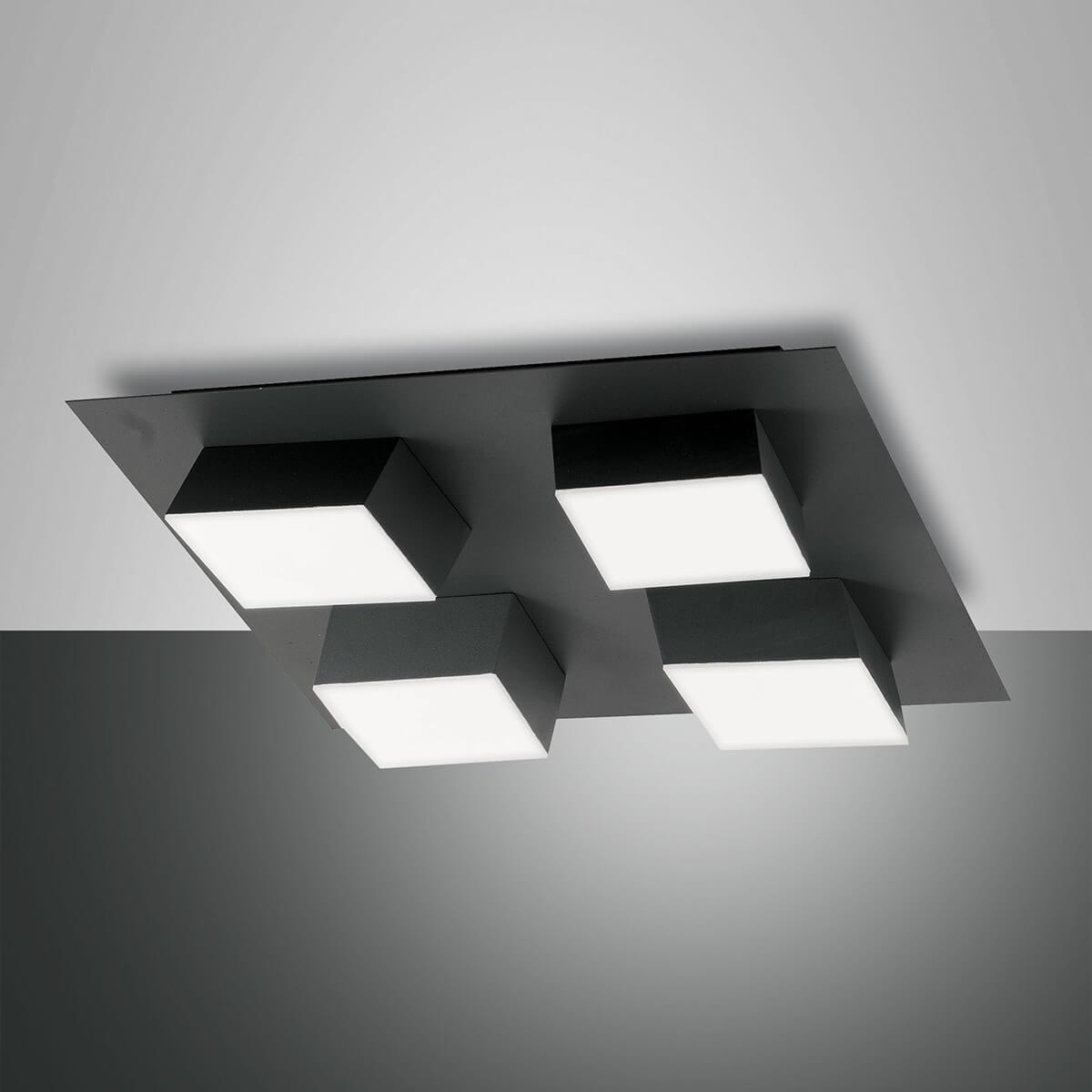 Fabas Luce Lucas LED Deckenleuchte, 4-flg. 3601-84-282