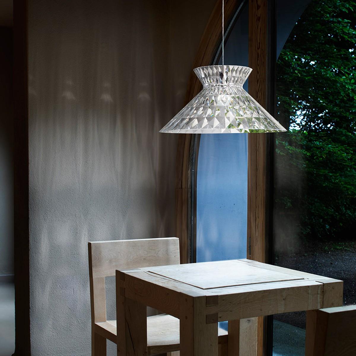 Studio Italia Design Sugegasa Pendelleuchte, Schirm: klar