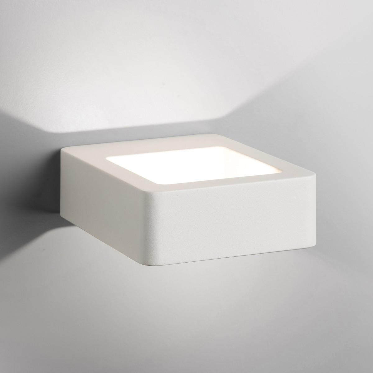Lupia Licht Arena Außenwandleuchte, weiß