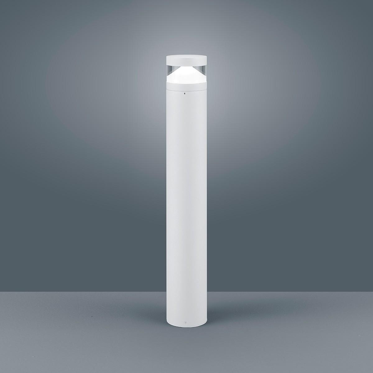 Helestra Mono LED Pollerleuchte, weiß matt