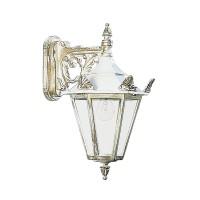 Albert Leuchten 1807 Außenwandleuchte, weiß-gold