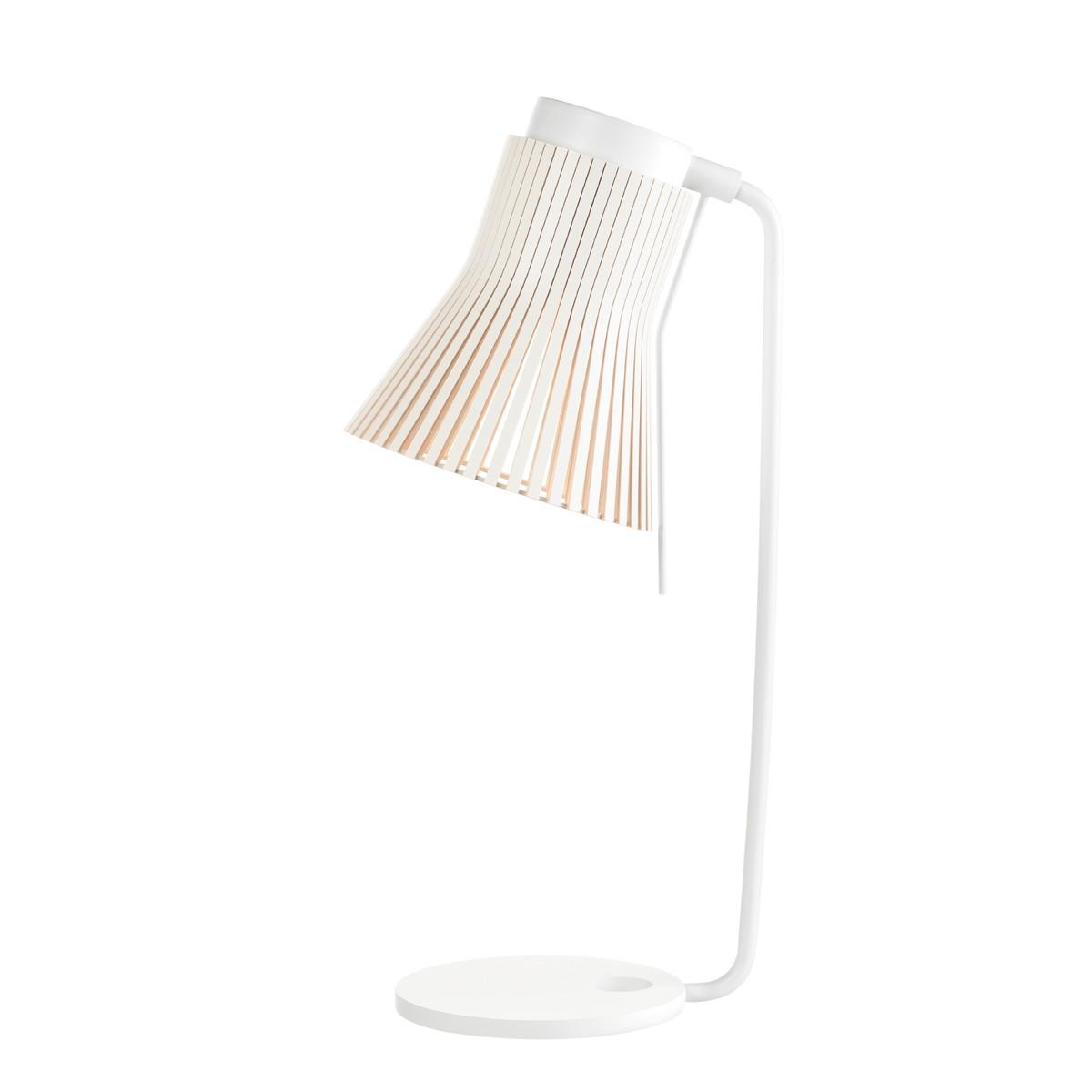 Secto Design Petite 4620 Tischleuchte, weiß, Schirm: weiß laminiert