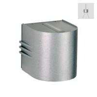 Albert Leuchten 2307 Wandstrahler, eng/breit, Silber