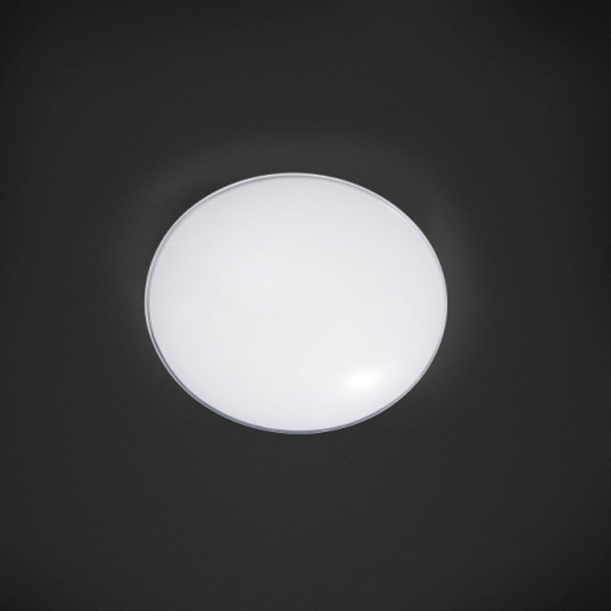 Bankamp Toledo Deckenleuchte, Ø: 40 cm, opalweiß / klar