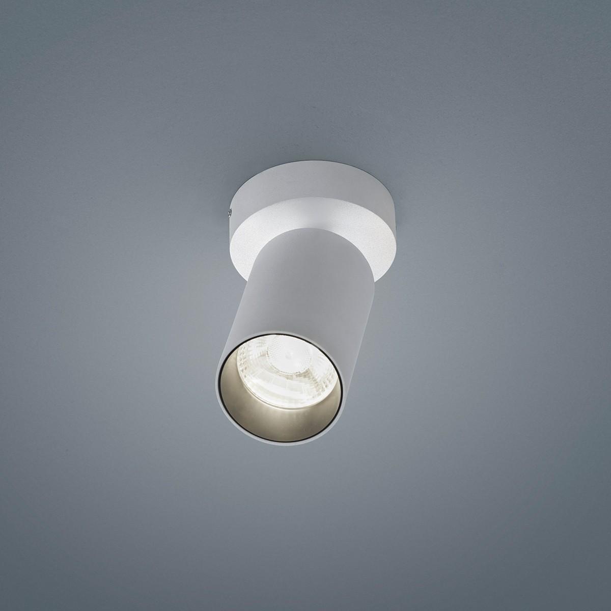 Helestra Riwa LED Deckenleuchte, 1-flg., weiß matt