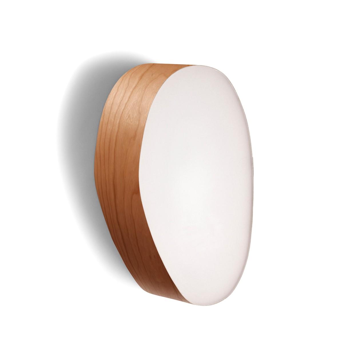 LZF Lamps Guijarro Small LED Wand- / Deckenleuchte, Kirsche