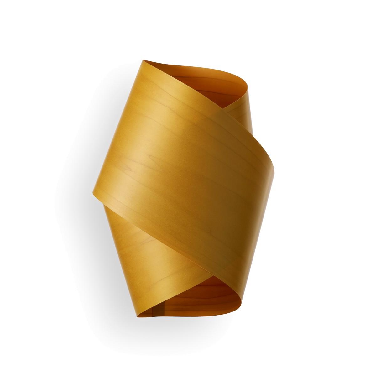 LZF Lamps Orbit Wandleuchte, gelb