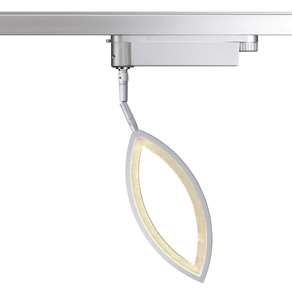 Oligo PHASE Flavia LED Strahler, 2700 K, Prismatik offen, Chrom matt