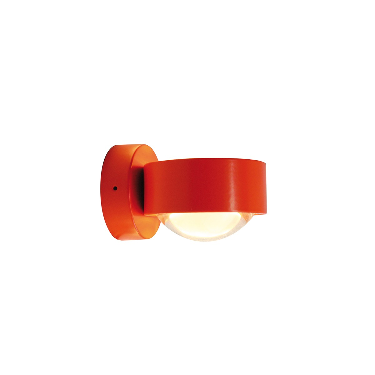Top Light Puk Wall LED Wandleuchte, orange