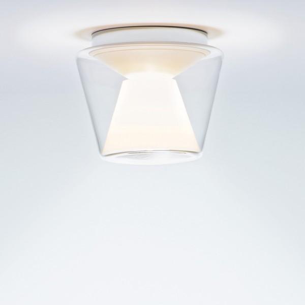 Serien.lighting Annex Ceiling LED Medium, Schirm klar / opal