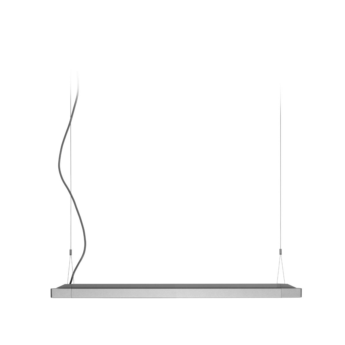Belux Flat-30 Pendelleuchte, 2-Stufenschaltung, Aluminium