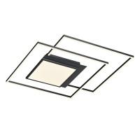 B-Leuchten Finestra LED Deckenleuchte, anthrazit eloxiert