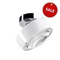 Più alto C NV Deckenstrahler %Sale%, Chrom / weiß glänzend