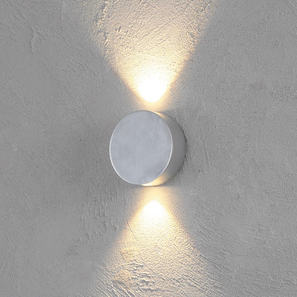 Escale Sun Wandleuchte, Blattaluminium