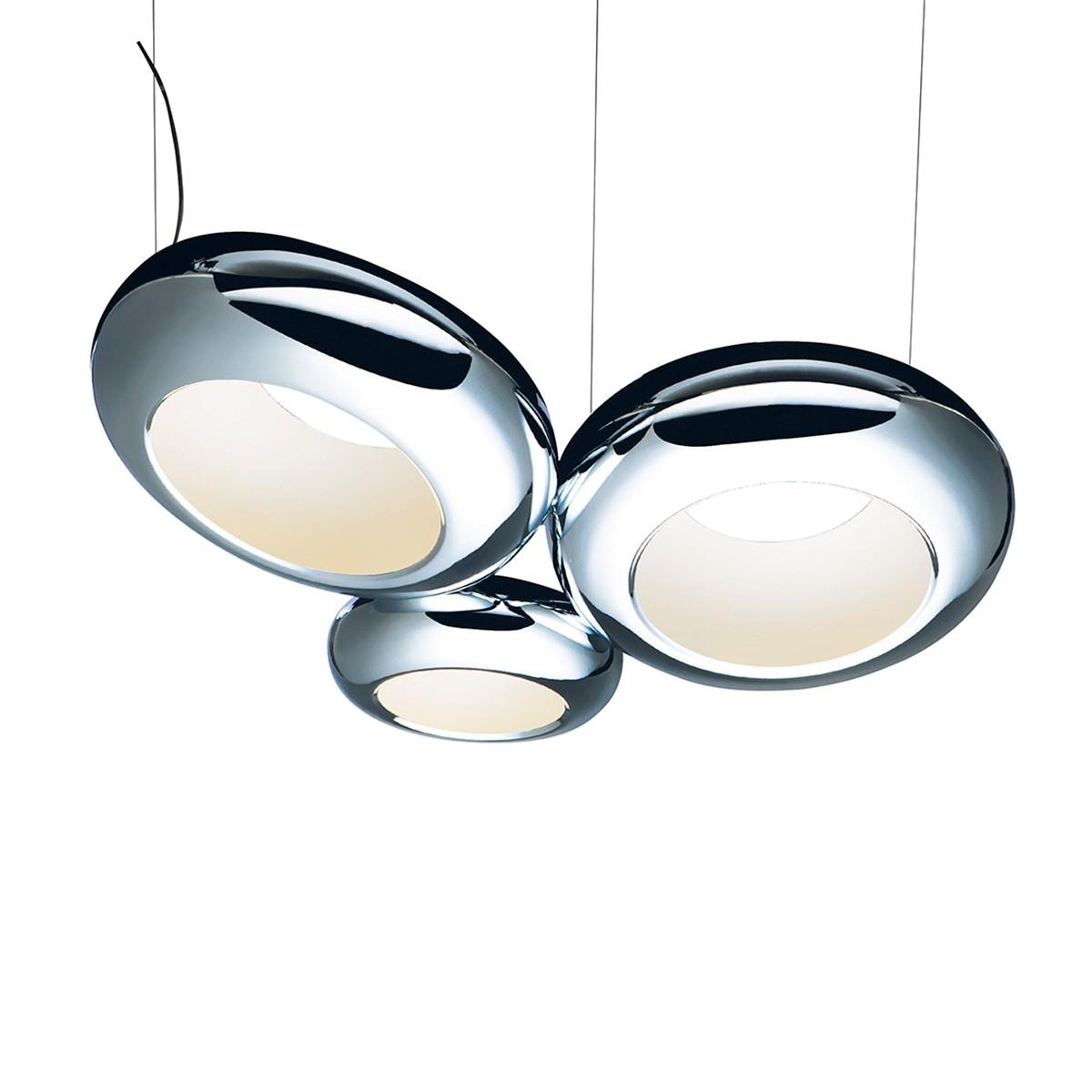 Sompex Aura 03 LED Pendelleuchte, Chrom