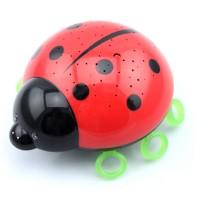 Niermann Beetlestar Nachtlicht, rot-schwarz
