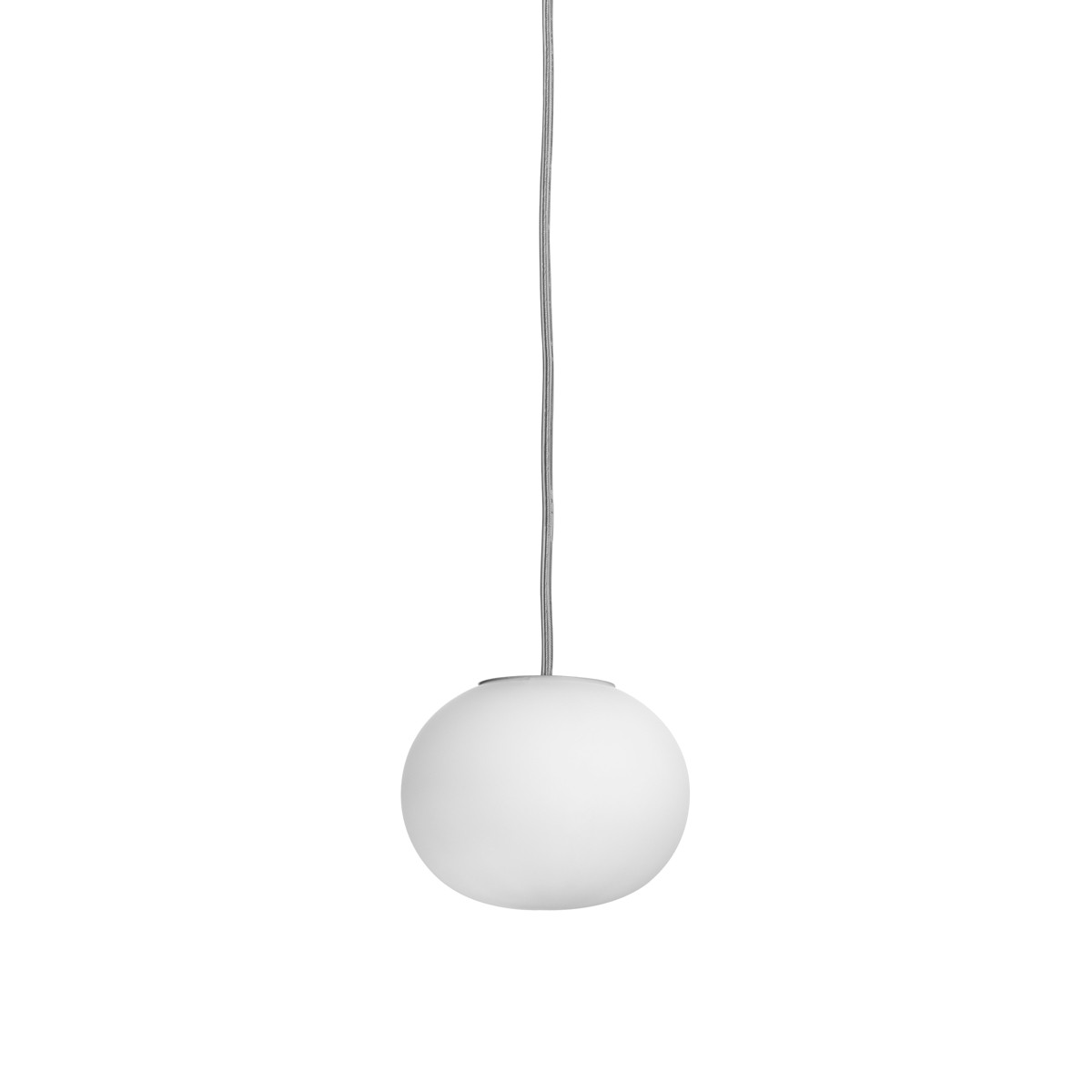 Flos Mini Glo-Ball S Pendelleuchte, Ø: 11,2 cm, weiß