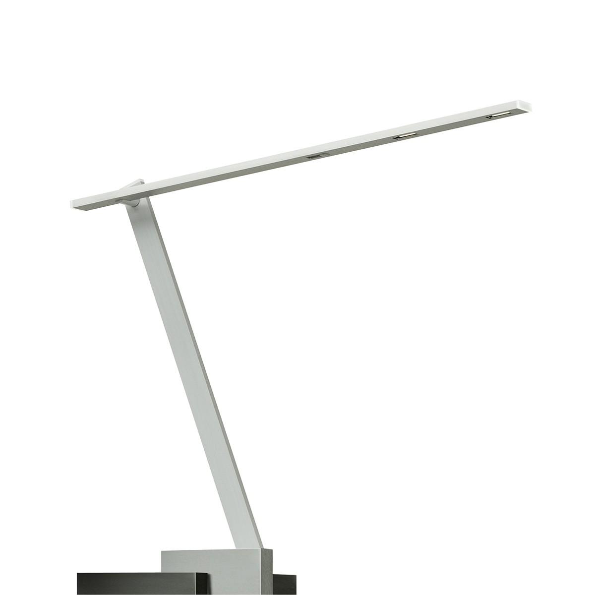 Byok Nastrino Tischleuchte mit Fuss, Aluminium matt